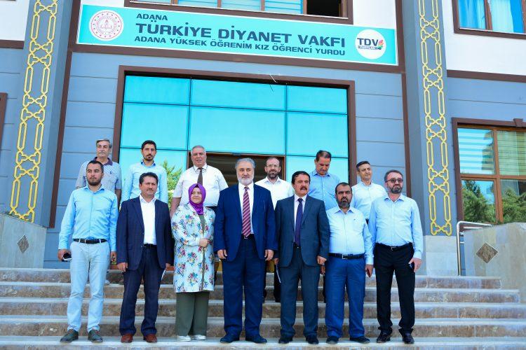 Adana Yüksek Öğrenim Kız Öğrenci Yurdu Açılışı İl Müftüsü Hasan Çınar'ın Katılımıyla Gerçekleşti