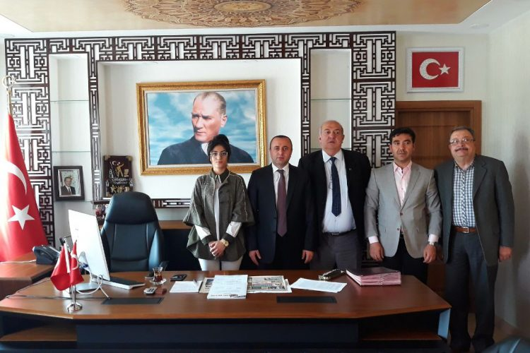 Nova Medya Grup'un Mardin Dargeçit Kaymakamı Rızvan EROĞLU'yu Ziyareti