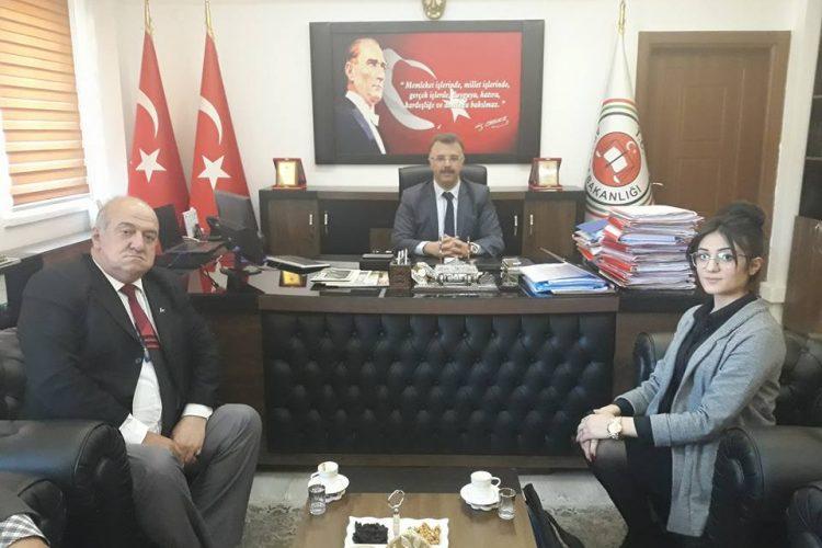 Nova Medya Grup'un Mardin Cumhuriyet Başsavcısı Tolgahan ÖZTOPRAK'ı Ziyareti