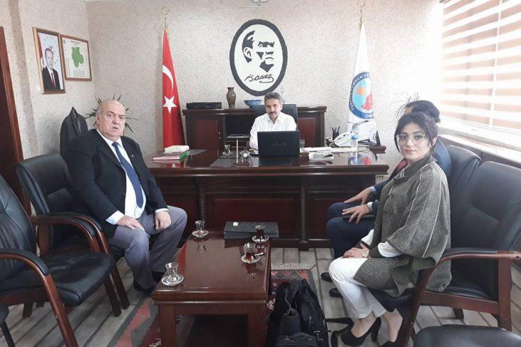Nova Medya Grup'un Mardin Ömerli Kaymakamı Mehmet Emin TAŞÇI'yı Ziyareti