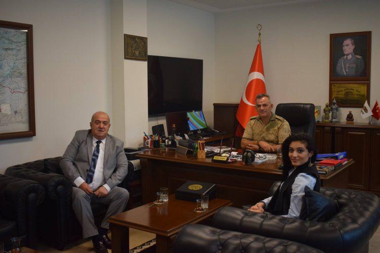 Nova Medya Grup'un Osmaniye İl Jandarma Alay Komutanı Kıdemli Jandarma Albay Tamer BİLACAN'ı Ziyareti