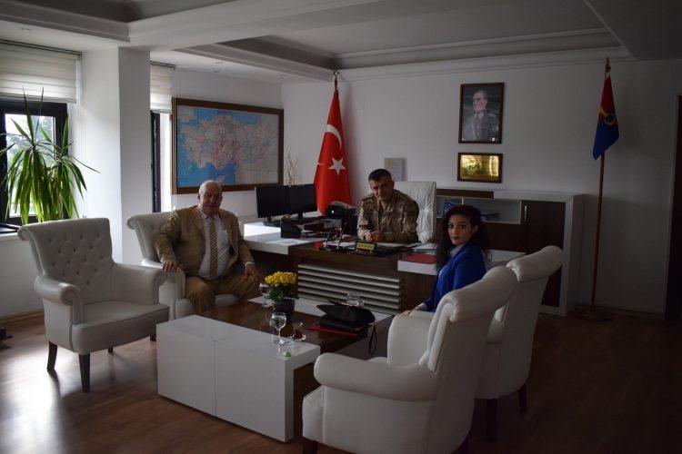 Hatay İl Jandarma Alay Komutanı / Kıdemli Jandarma Albay Uğur Ertekin'i Ziyaretimiz