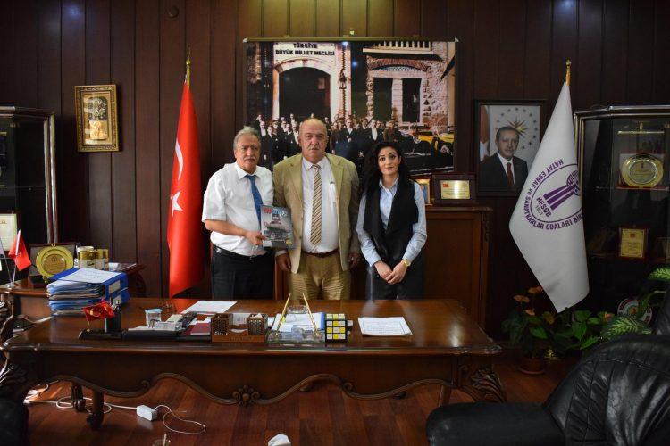 Hatay Esnaf ve Sanatkârlar Odası Başkanı Abdulkadir Teksöz'ü Ziyaretimiz