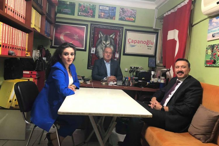 Osmaniye / Bahçe Belediyesi Kaymakamı Müfit Gültekin'in Nova Medya  Grup'a İade-i Ziyareti