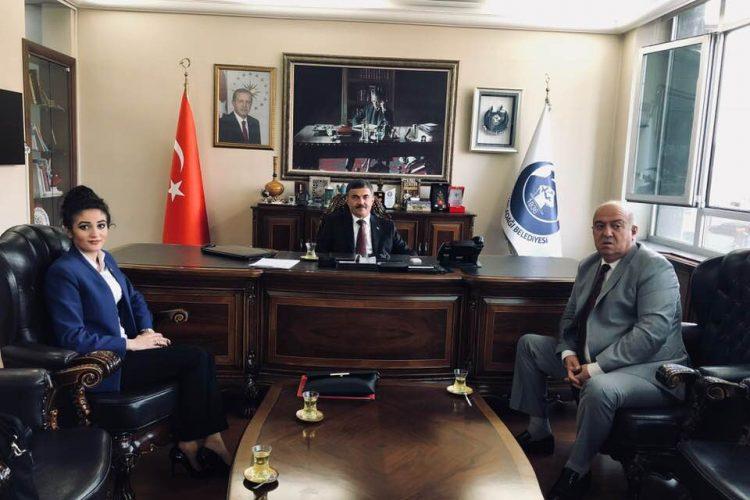 Hatay Yayladağı Bld. Bşk. Hacı Mehmet Kalkan'ı Ziyaretimiz