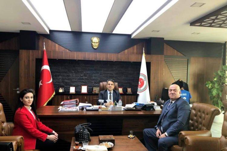 Adana Cumhuriyet Başsavcımız Ömer Faruk Yurdagül'ü Ziyaretimiz