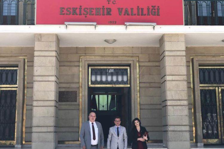 Eskişehir Valisi, Özel Kalem Müdürü Mete Gürhan Daşçı'yı Ziyaretimiz
