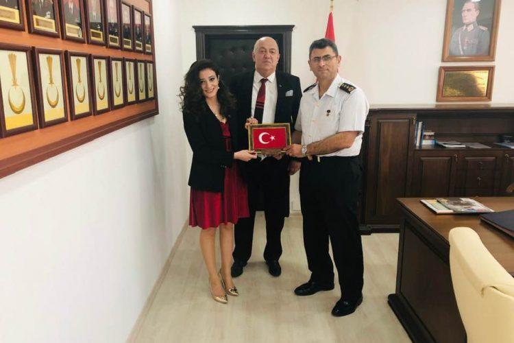Yalova İl Jandarma Komutanı, Albay Ali Gemalmaz'ı Ziyaret
