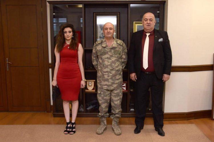 Nova Medya Grup'un Korgeneral Zekai Aksakallı Paşa'yı Ziyareti