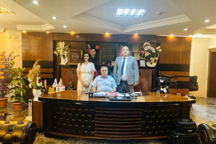 Mardin Yeşilli Belediye Başkanı Halil Demir'i Ziyaret