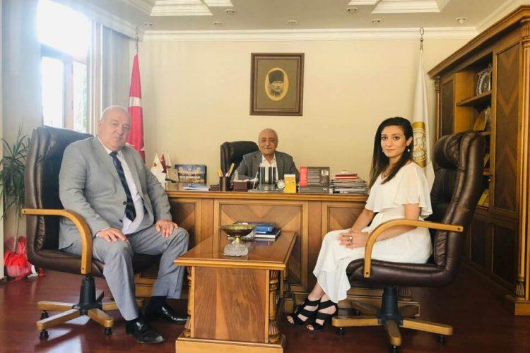 Mardin Ticaret ve Sanayi Odası Başkanı Mehmet Ali Tutaşı'nı Ziyaretimiz
