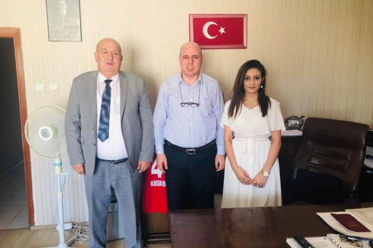 2009-2014 yılları arasında Mardin B. Şhr. Bld. Bşk. Olan Av. Mehmet Beşir Ayanoğlu'nu Ziyaretimiz
