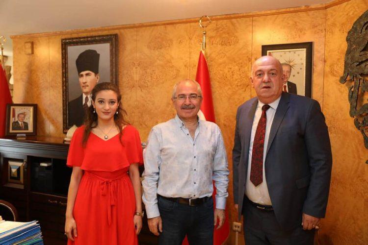 Mardin Valisi Mustafa Yaman'ı Ziyaretimiz