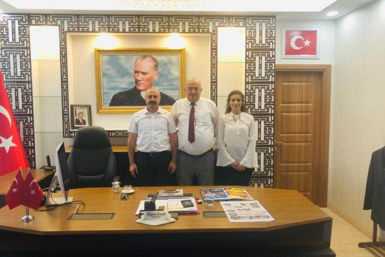 Dargeçit Kaymakamı Rızvan Eroğlu Beyefendi'yi Ziyaretimiz