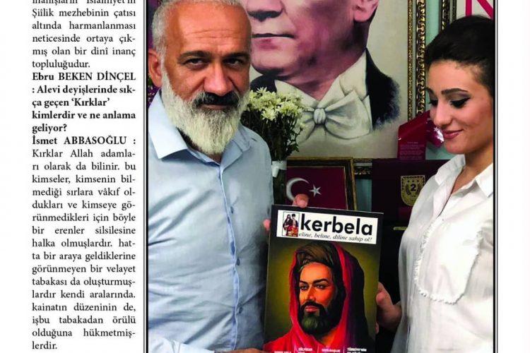 Alevi Düşünce Derneği Başkanı İsmet Abbasoğlu ile Röportaj