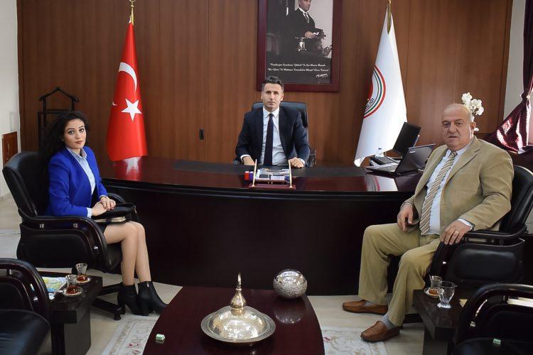 Nova Medya Grup'un Hatay Cumhuriyet Başsavcısı Ahmet Ataman'ı Ziyareti