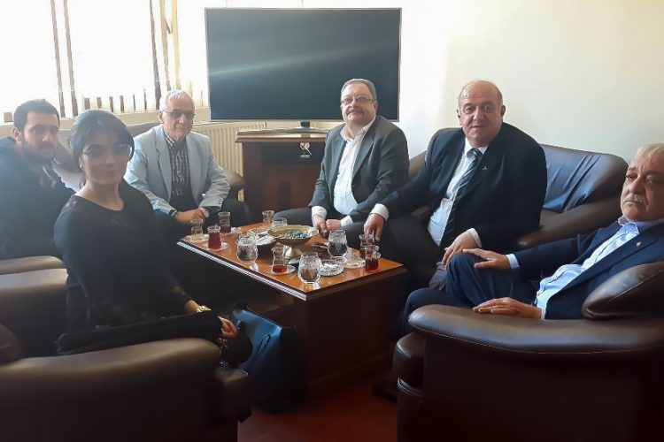 Nova Medya Grup'un Mardin Ticaret ve Sanayi Odası Başkanı Mehmet Ali TUTAŞI'nı Ziyareti