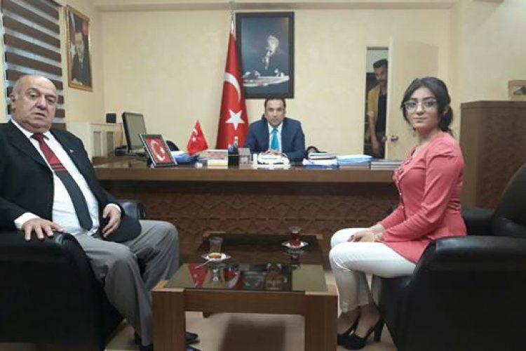 Nova Medya Grup'un Mardin Nusaybin Kaymakamı Ergün BAYSAL'ı Ziyareti