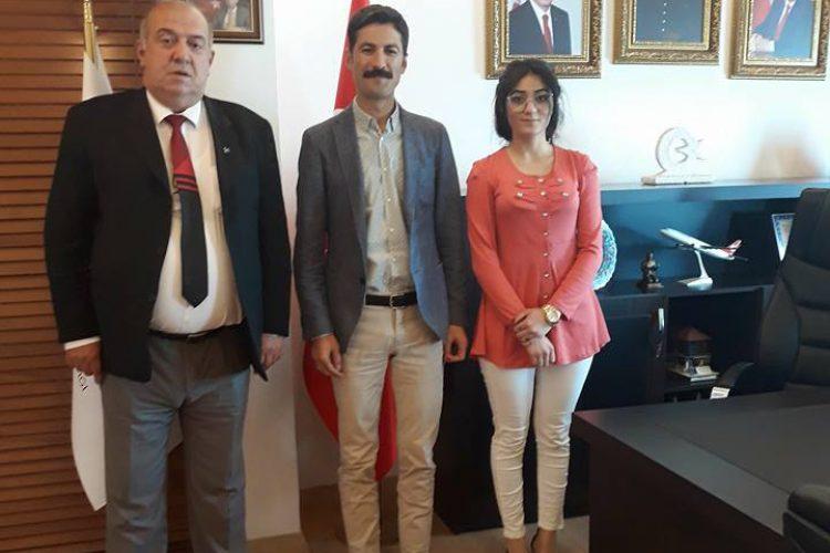 Nova Medya Grup'un Mardin Derik Kaymakamı Hakan KAFKAS'ı Ziyareti