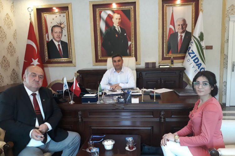 Nova Medya Grup'un Mardin Mazıdağı Kaymakamımız Halit BENEK'i Ziyareti
