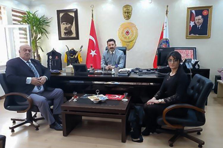 Nova Medya Grup'un Mardin İl Emniyet Müdürü Hasan ONAR'ı Ziyareti