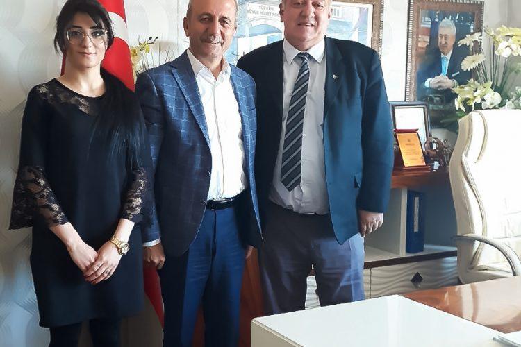 Nova Medya Grup'un Mardin MESO Başkanı İsa TUNÇ'u Ziyareti