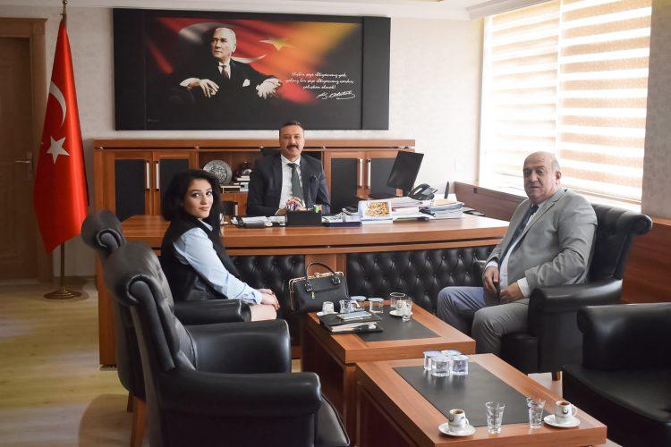 Nova Medya Grup'un Osmaniye / Bahçe Kaymakamı Müfit Gültekin'i Ziyareti