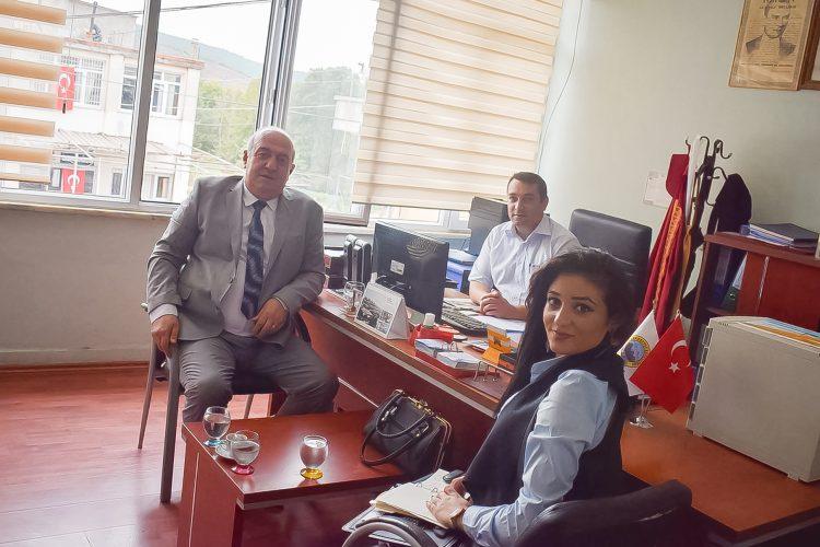 Nova Medya Grup'un Osmaniye İlçe Belediyesi'ni Ziyareti