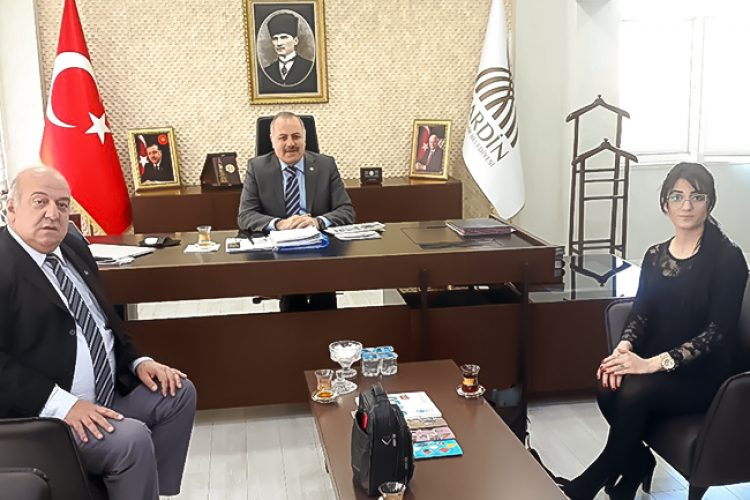 Nova Medya Grup'un Mardin Valisi Mustafa Ayhan'ı Ziyareti