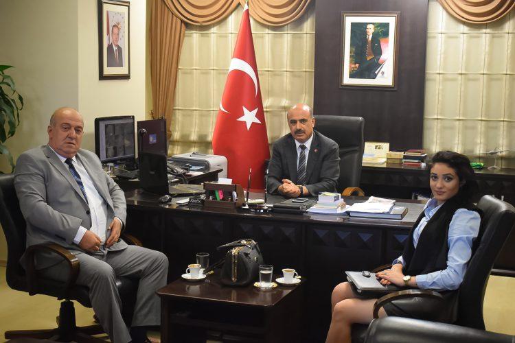 Nova Medya Grup'un, Osmaniye İl Emniyet Md. Nurettin Gökduman'ı Ziyareti