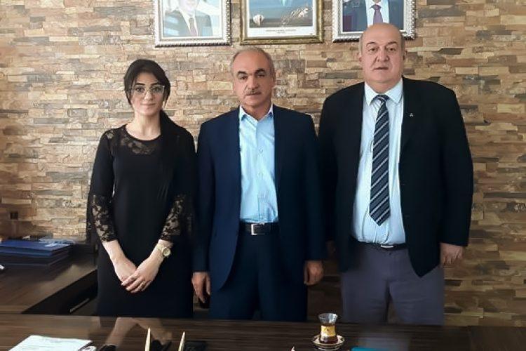 Nova Medya Grup'un MARSKİ Müdürü Sadullah TURGUT'u Ziyareti