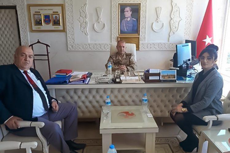 Nova Medya Grup'un Mardin Jandarma Alay Komutanı Tuğgeneral  Sayın Yusuf Kenan TOPÇU'yu Ziyareti