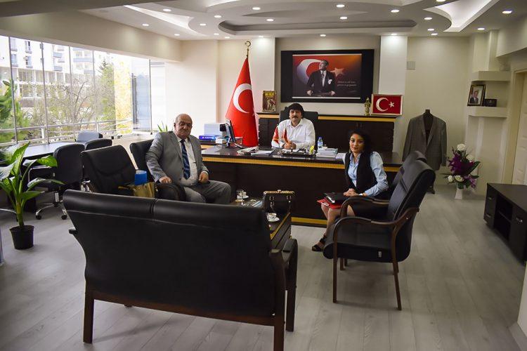 Nova Medya Grup'un Osmaniye Hasanbeyli İlçe Kaymakamı Fatih Kılıç'ı Ziyareti