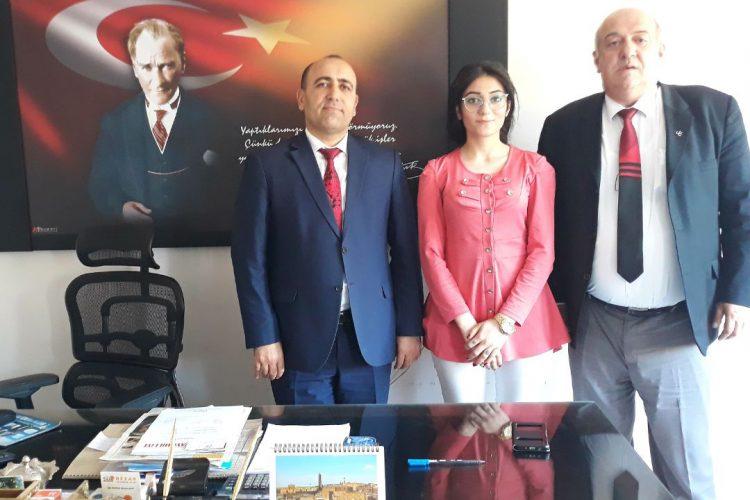 Nova Medya Grup'un Mardin Yeşilli Belediye Başkan Yardımcımız Hayati ADIYAMAN'ı Ziyareti